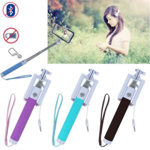 2015 Dk-010 The Best Seller Wholesale Foldable Mini Selfie Stick, Remote Selfie Stick, Selfie Stick.