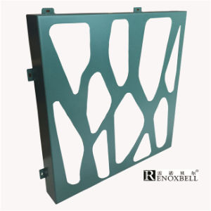 Turquoise Color Decorative Perforated Aluminum Panels pictures & photos