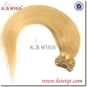 K. S Wigs Hot Sell 100% Brazilian Remy Hair Nano Ring Hair Weft pictures & photos