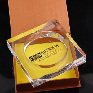 Wholesale Square Crystal Glass Ashtray as Business Gift pictures & photos