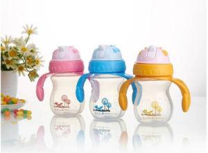 250ML Custom BPA Free Plastic Water Bottle For Children, Clear Plastic Drinking Water Bottle