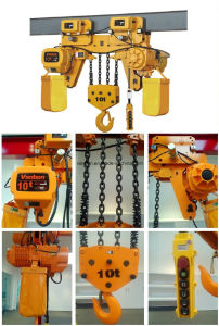 10ton Low Headroon Hoist, Dual Speed Hoist (WBH-10004DL) pictures & photos