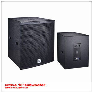 Active Subwoofer Disco Speaker System Loudspeaker Wood Box pictures & photos