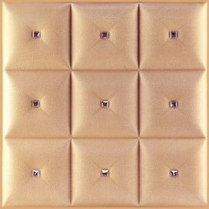 3D PU Leather Wall Panel 1017-3 for Modern Interior Decoration pictures & photos