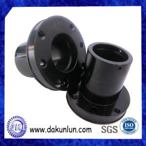 Steel Turned Parts with Black Finish