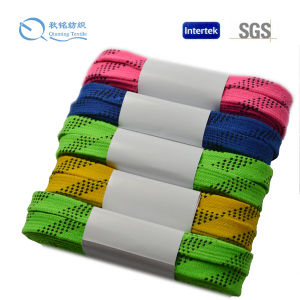 Waterproof Material Land Hockey Shoelace pictures & photos