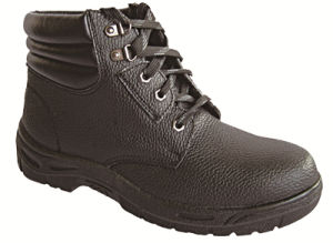 Ufa015 Woodland Black Steel Toe Safety Shoes Uniflame Safety Boots pictures & photos