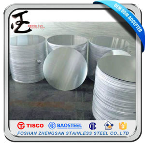 Cold Rolled 410 Grade Stainless Steel Circle pictures & photos