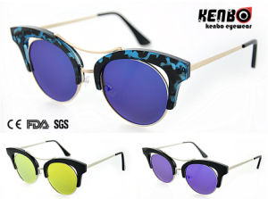 New Sunglasses with Flat Revo Lens for Lady CE, FDA, Kp50740 pictures & photos