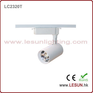 Hot Sales 20W White/Black COB Track Light for Museum LC2320g pictures & photos