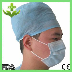 Doctor Cap with Elastic or Tie for Hospital & Clinic pictures & photos