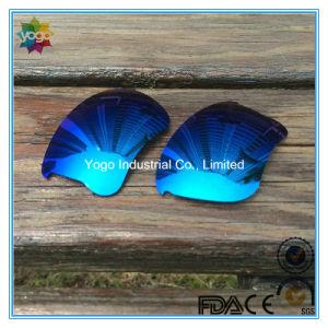 Polarized Lens for Oakley Flak Jacket Frame Blue Mirror pictures & photos