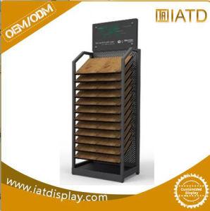 Wholesale Heavy Duty Metal Floor Display Rack for Carpet Display pictures & photos