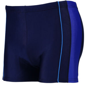 High Elasticity Men′s Swimming Trunks with Customized Logo pictures & photos