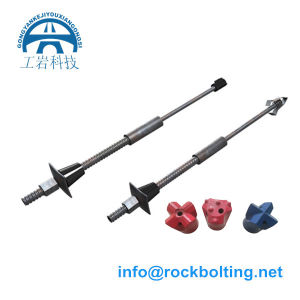 Self-Drilling Hollow Grouting Rock Bolt