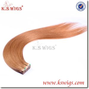 5A 100% Natural Cheap Human Hair, Wholesale Tape Hair Extensions pictures & photos