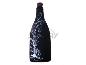 Neoprene Champagne Cooler Bag, Custom Insulated Wine Bottle Holder (BC0064) pictures & photos