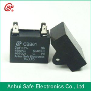 Cbb61 35UF 450V/250V Capacitors for Power Bank pictures & photos