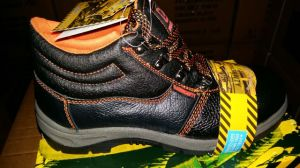 Safety Boots with Steel Toe and Steel Plate PU Outsole Boot/Shoes