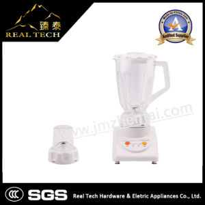 1.5L Thicker Plastic Jar 4 Speeds 3 in 1 Electric Blender with Grinder and Chopper