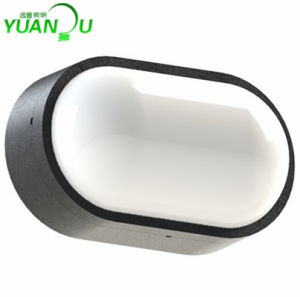 Outdoor Indoor Use Modern New Oval PC IP65 LED Wall Light pictures & photos