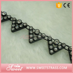 Shoe Accessory Black Style Fringe Trimming Tape pictures & photos