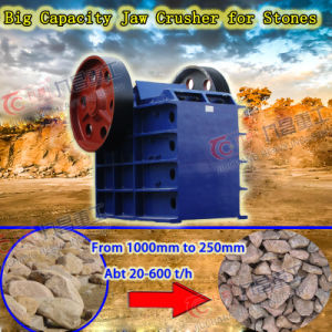 Jaw Crusher for Mine Energy Saving Stone Mining Crusher with ISO pictures & photos