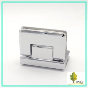Square Bevel Edge 90 Degree Glass to Glass Hinge/ Zinc Hinge pictures & photos