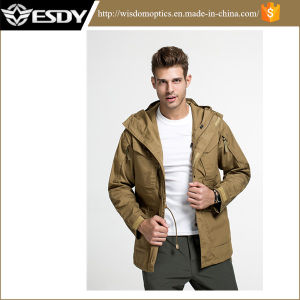 Hot Jacket Men Outdoor Tactical Windbreaker Jacket Combat Windbreaker Esdy pictures & photos