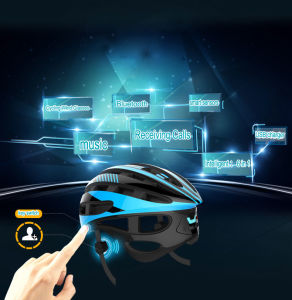 High Quality Mountain Bicycle Helmet Safety Sport Bike Helmet with Phone Calls Function