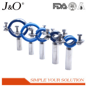 Sanitary Stainless Steel Pipe Holder with Blue Insert pictures & photos