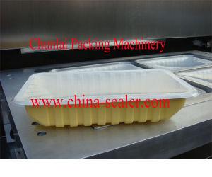 Vertical Vacuum Bubble Tea Cup Sealing Machine pictures & photos