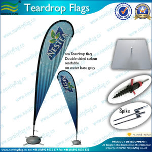 2015 Hot Sell Beach Flags/Teardrop Beach Flags&Banners (L-NF04F06061) pictures & photos
