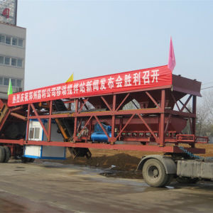 CE Certificate Yhzs35 30 Mobile Concrete Mixing Machine pictures & photos