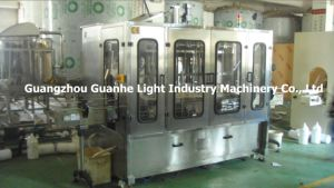 Automatic Rotor Pump Bottle Filling Machinery with Capping Labeling pictures & photos