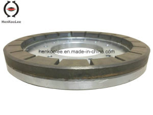 Metal-Bond Diamond Grinding Wheel (Working Layer With Flume) pictures & photos