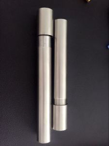 Seamless SS316 Stainless Steel Threaded Pipe with Male Thread End pictures & photos