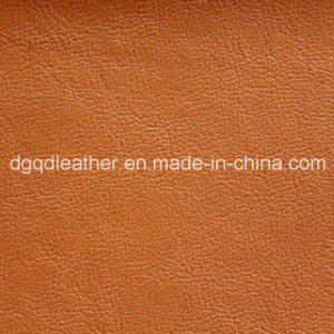High Quality Semi-PU Furniture Leather (QDL-51055) pictures & photos
