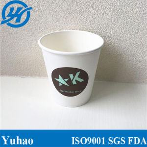 Customized Logo PLA Coating Biodegradable Paper Cup Manufacturer pictures & photos
