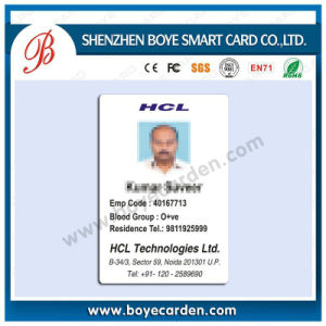 Hot Sale Cr80 13.56MHz RFID Card for Staff Identification System pictures & photos