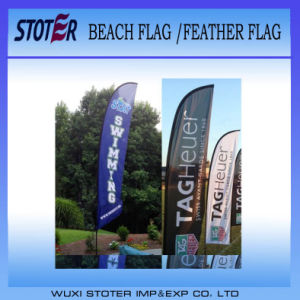 Promotion Custom Beach Feather Flags pictures & photos