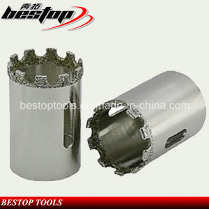 Bestop Vacuum Brazed Diamond Core Drill Bit for Porcelain Tile pictures & photos