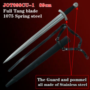 Handmade Medieval Swords with Scabbard 89cm JOT098CU-1 pictures & photos