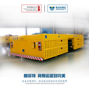 Heavy Duty Materials Workshop Steerable / Rail Transfer Cart pictures & photos