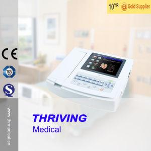Thr-ECG-120g Hospital 12 Channel Portable ECG Machine pictures & photos