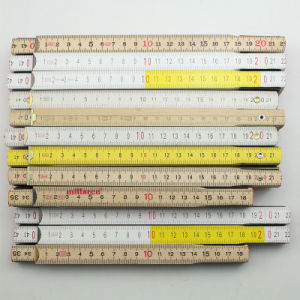 Metric or Inch Wood Folding Ruler pictures & photos