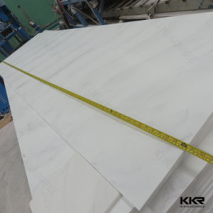 12mm White Solid Surface Artificial Marble Sheets pictures & photos