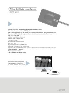 Hot Sale Italy Digital Intraoral X Ray Sensor Dental X Ray pictures & photos