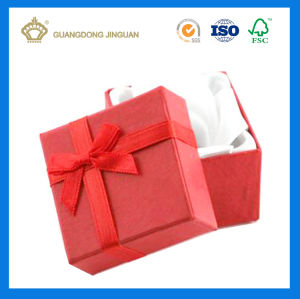 2017 New Design Special and Useful Gift Paper Box with Silk Ribbon pictures & photos