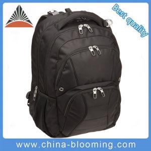 Black Zipper Multi-Functional 15.6 School Bag Laptop Backpack pictures & photos